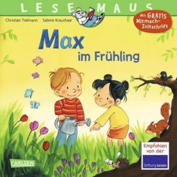LESEMAUS 29: Max im Frühling