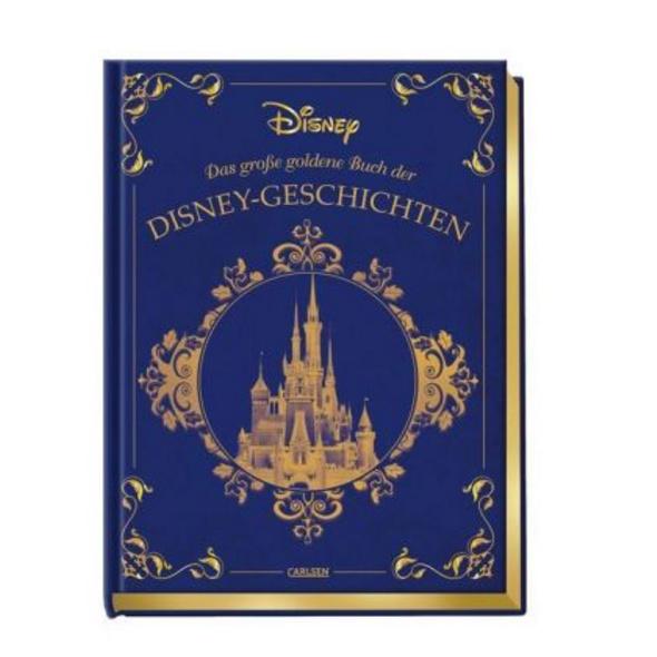 Disney: Das große goldene Buch der Disney-Geschich