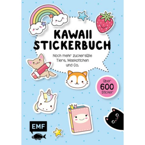 Kawaii Stickerbuch - Band 2