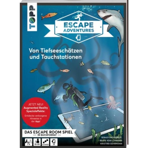 Escape Adventures AR - Augmented Reality. Von Tief
