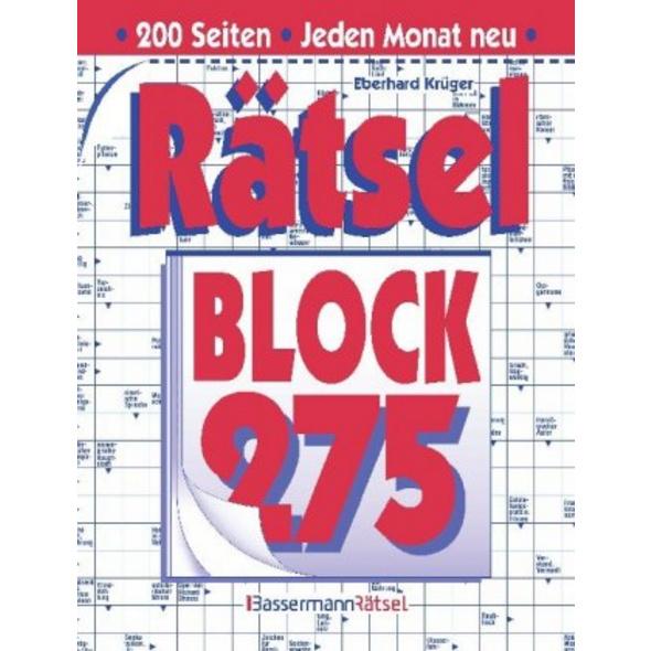 Rätselblock. . 275