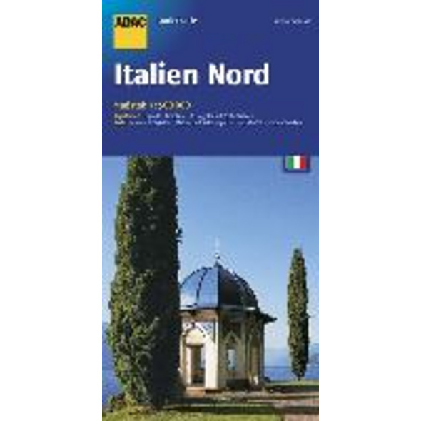 ADAC Länderkarte Italien Nord 1 : 500 000