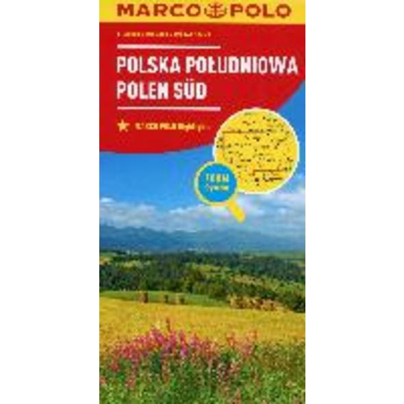 MARCO POLO Karte Polen Süd 1:300 000