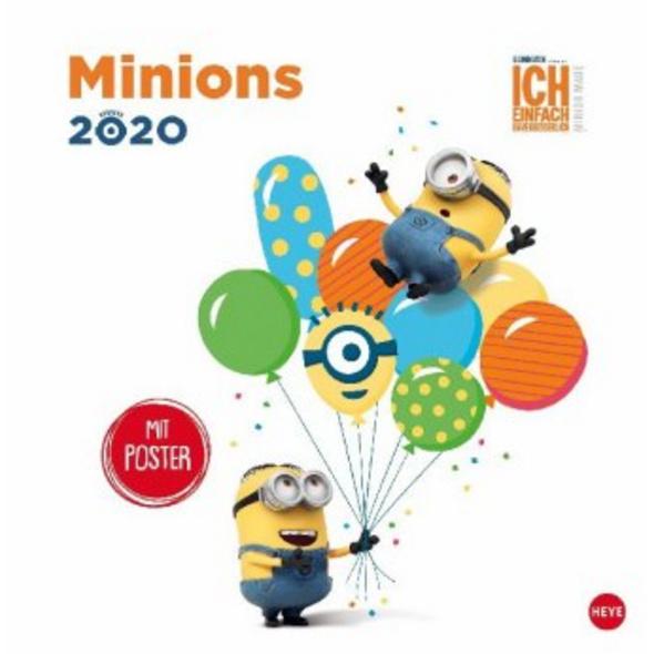 Minions Broschurkalender 2020