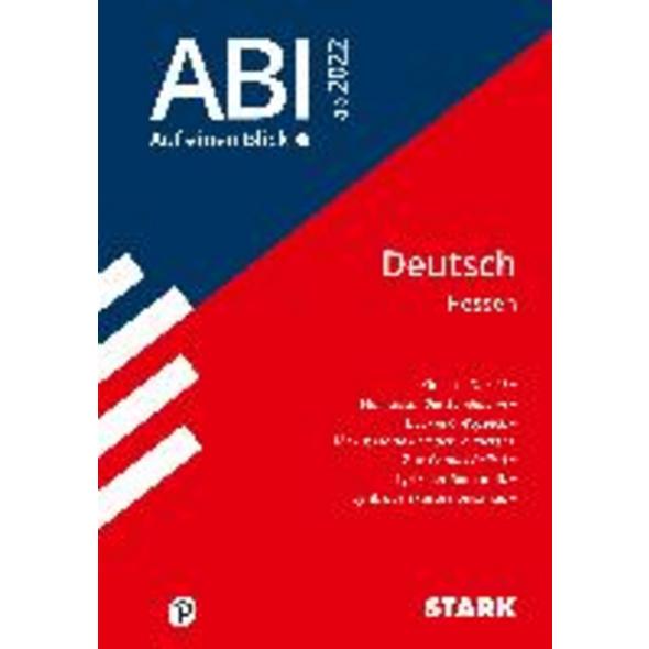 STARK Abi - auf einen Blick! Deutsch Hessen 2022