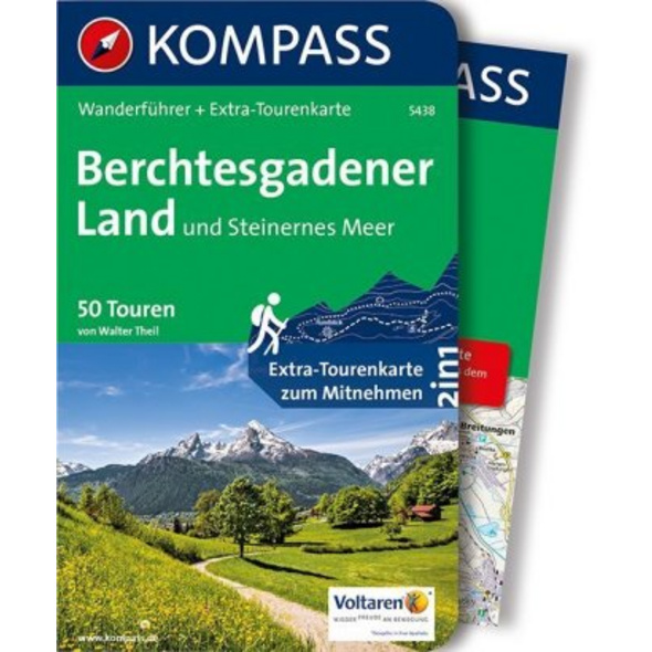 KOMPASS Wanderführer Berchtesgadener Land und Stei