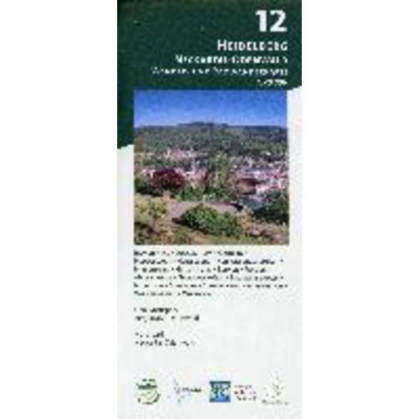 Heidelberg - Neckartal-Odenwald 1:20 000