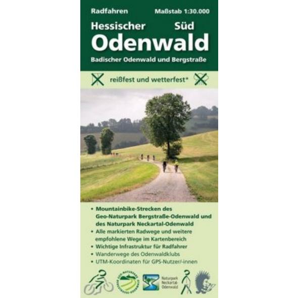 Radfahren, Hessischer Odenwald Süd   Badischer Ode