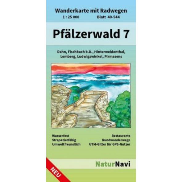 Pfälzerwald 7. Blatt 40-544, 1 : 25 000