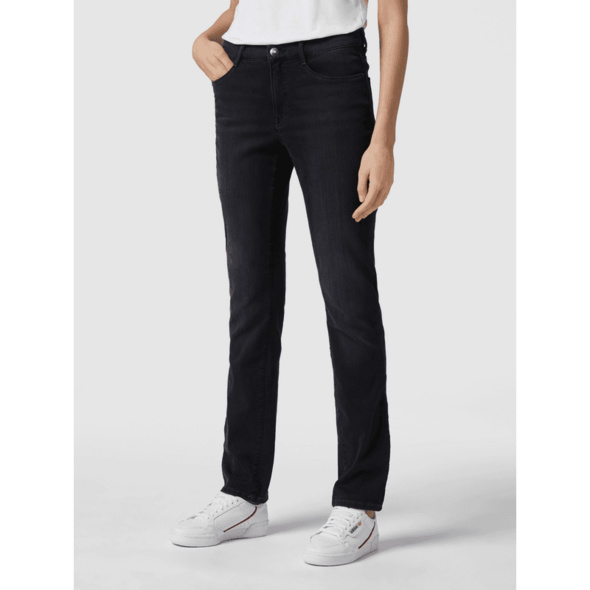 Slim Fit Jeans mit Swarovski®-Kristallen Modell 'Mary'