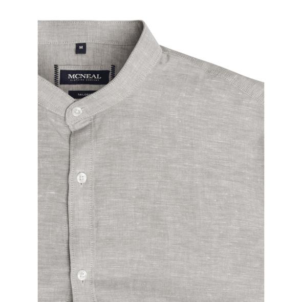 Slim Fit Leinenhemd Modell 'Richeard'