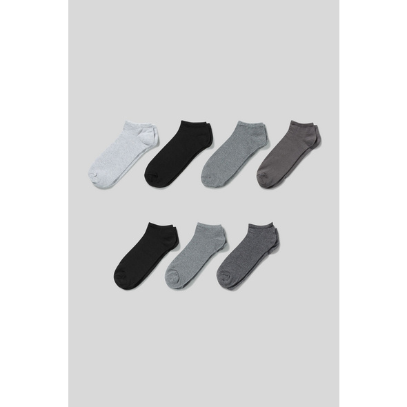 Sneakersocken - Bio-Baumwolle - 7 Paar