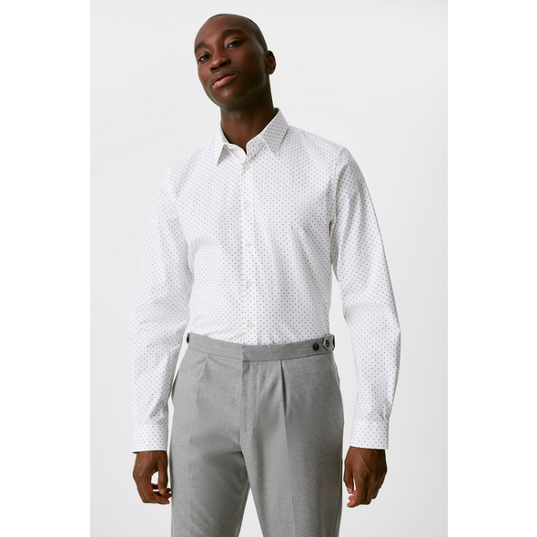 Businesshemd - Slim Fit - Kent - Stretch