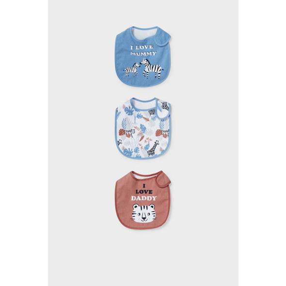 Multipack 3er - Baby-Lätzchen