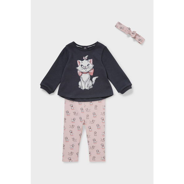 Aristocats - Baby-Outfit - 3 teilig
