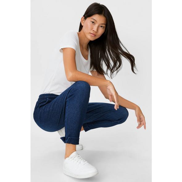 Jogginghose - Jeans-Look