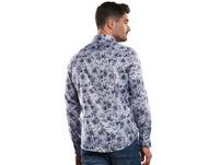 Florales Langarmhemd