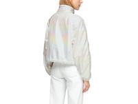 Leichte Jacke in glänzender Optik - Jacke