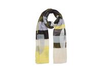 Leichter Schal mit Webmuster - Schal