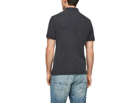Poloshirt mit Rippkragen - Poloshirt