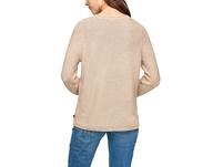 Pullover mit Rollsaumkanten - Pullover