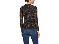 Bedrucktes Shirt aus Mesh - Meshshirt