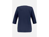 Shirt, Möwenmotiv, Classic, Glitzersteinchen, 3/4-Arm