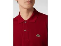 Classic Fit Poloshirt aus Piqué mit Logo-Stickerei