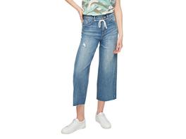 Regular: Culotte mit Tunnelzug - Jeans-Culotte