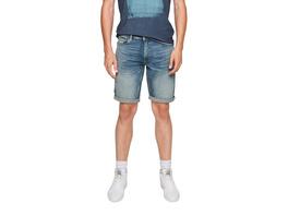 Regular: Bermuda mit Waschung - Jeansbermuda