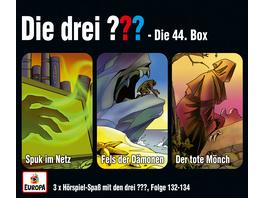 Die drei ??? - 3er Box 44  Folgen 132, 133, 134