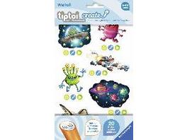 tiptoi  CREATE Sticker Weltall