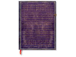 Notizheft Beethovens 250. Geburtstag ultra  180 x 230 mm  144 Seiten unliniert, mit magnetischem Klappverschluss  Set mit 2 Stk