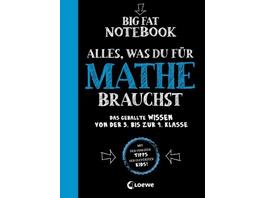 Big Fat Notebook - Alles, was du für Mathe brauchs