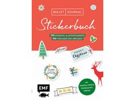 Bullet Journal - Stickerbuch Merry Christmas: 700