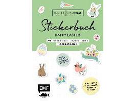 Bullet Journal - Stickerbuch Happy Easter: 750 frü