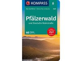 KOMPASS Wanderführer Pfälzerwald und Deutsche Wein