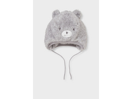 Baby-Kunstfell-Mütze